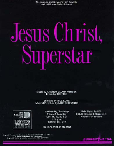 Picture of Jesus Christ Superstar