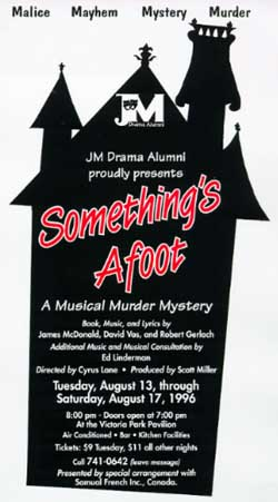 Something's Afoot Poster